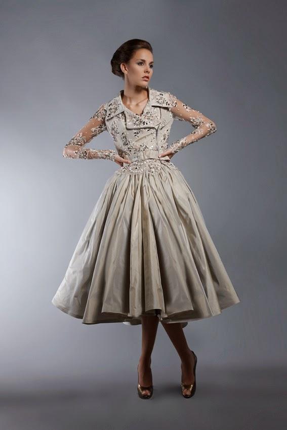 Vestidos de fiesta estilo 50