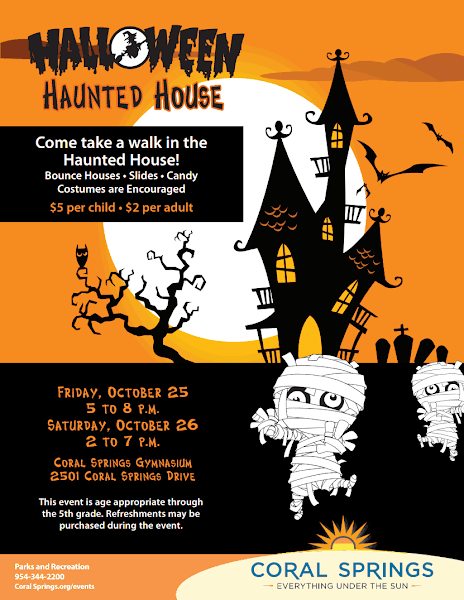 Local Community Events Coral Springs Halloween Haunted
