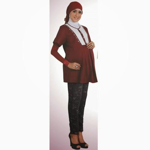 Trend Mode Baju Muslim Gamis Untuk Ibu Hamil