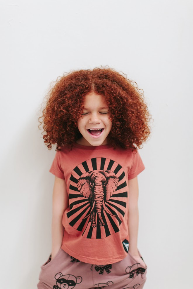 Elephant tee by Quinn and Fox Autumn-Winter 2014 kidswear collection