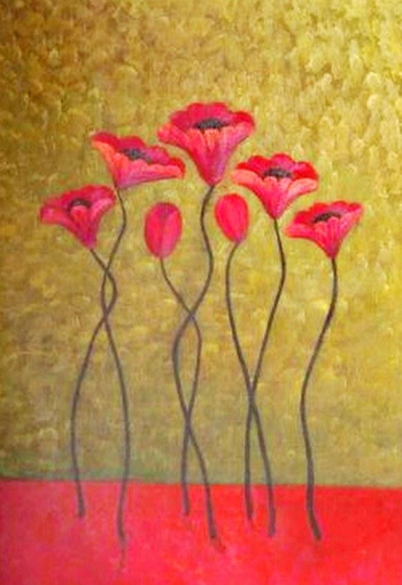 Cuadros modernos cuadros con flores minimalistas - Cuadros minimalistas modernos lo ultimo arte ...