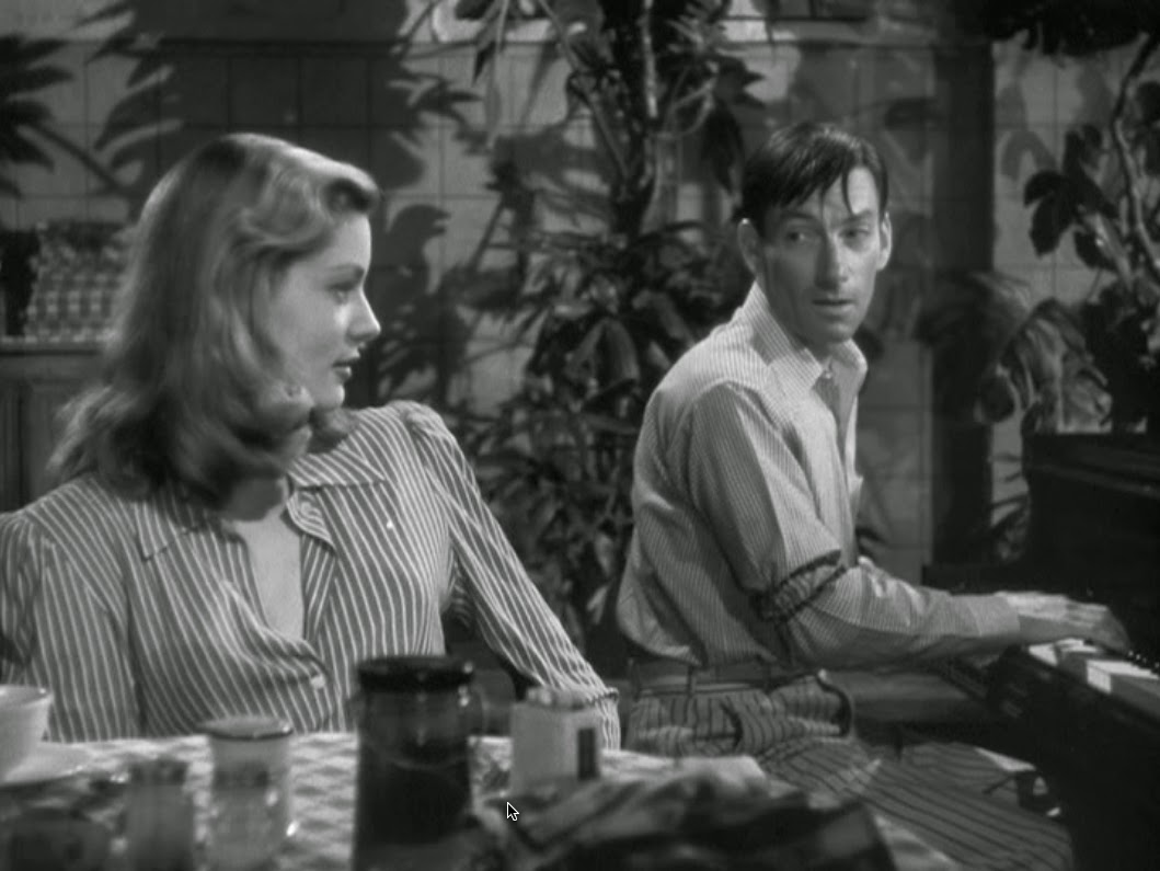 Lauren Bacall and Hoagy Carmichael in To Have and Have Not