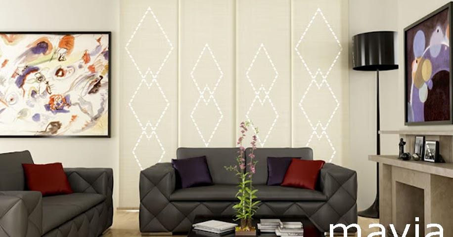 Arredamento di interni tende a pannelli moderne in for Siti di arredamento interni
