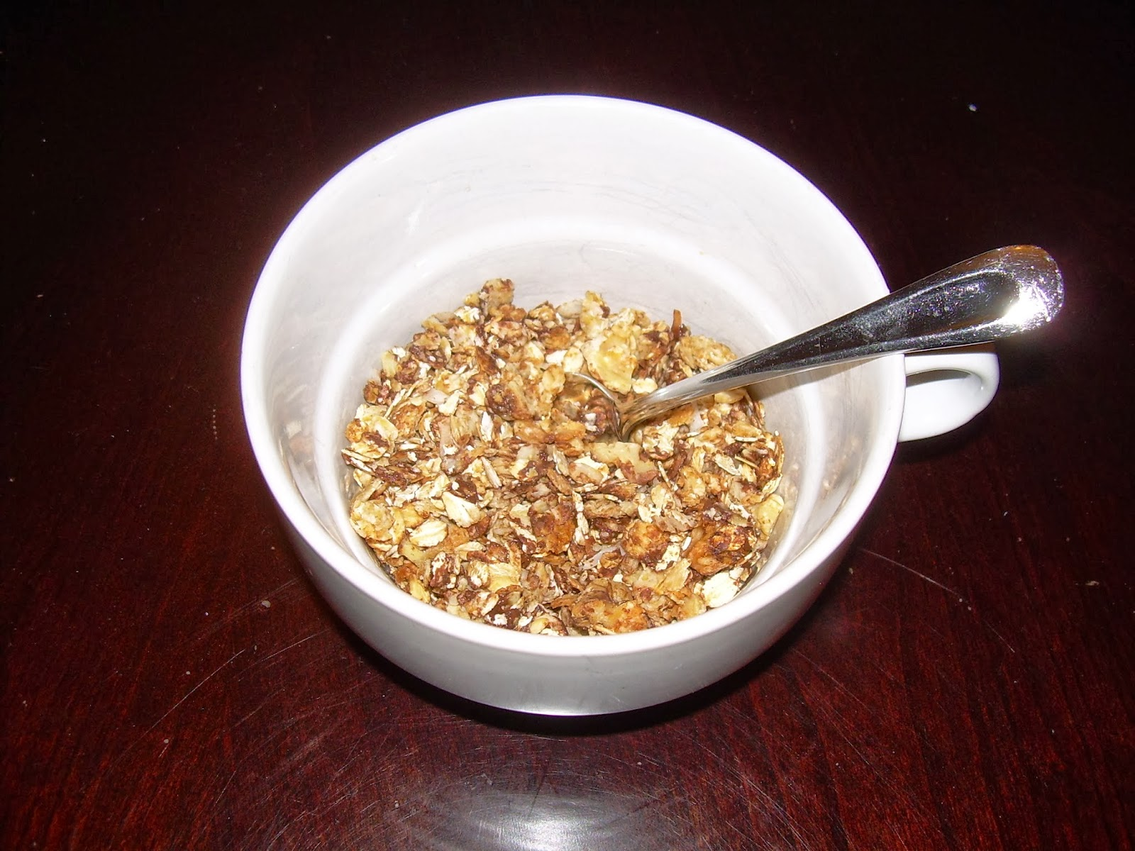 Chocolate-Coconut-Nutty Granola