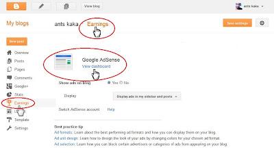 Cara Daftar Google Adsense dari Blogger