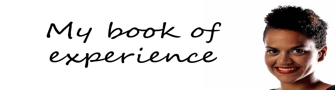 My book of experience