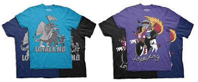 Loyal K.N.G. Winter 2010 Collection - United Monsters & Daft Bomb T-Shirts