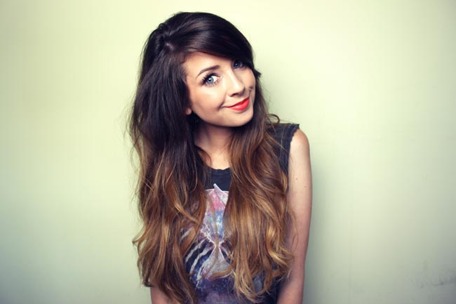 zoella, zoe, zoe sugg, teen vogue, the independant, chloe hamilton