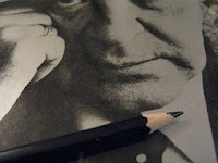 Vladmir Nabokov, and a pencil