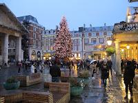 Este año el árbol de Navidad viene de Londres.