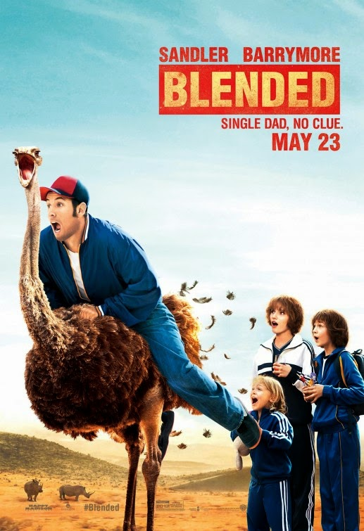 3 new posters of blended � adam sandler is fond of ostrich