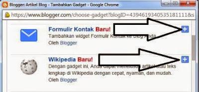 Gadget Blog Terbaru Oleh Blogger
