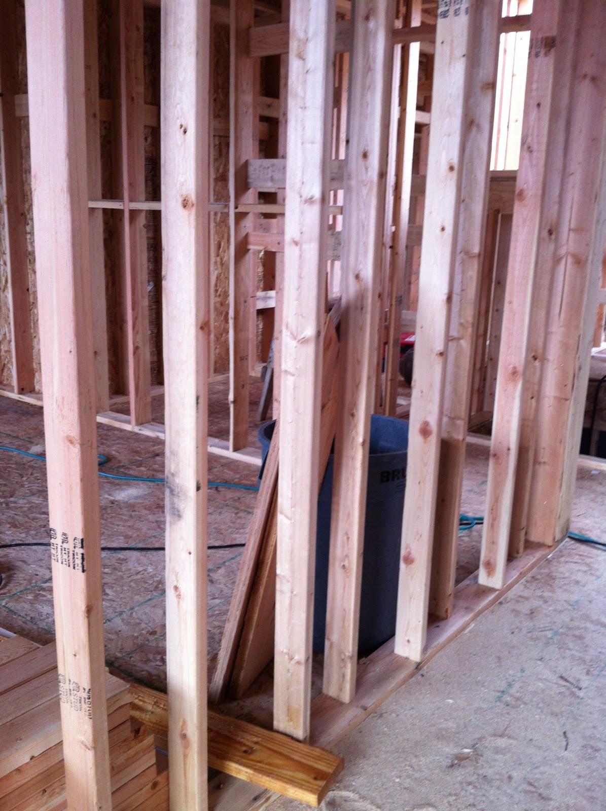 design dump: framing tip: staggering studs for soundproofing