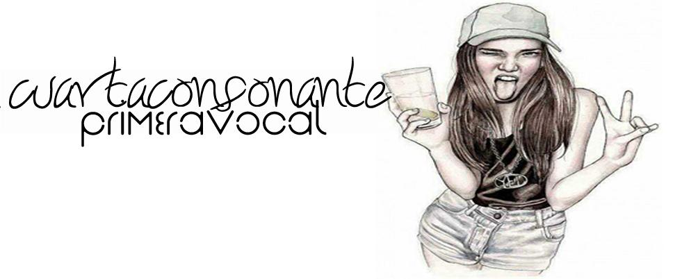 cuarta consonante; primera vocal.