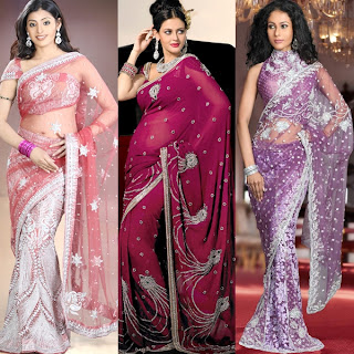 celebrity saree collection photos