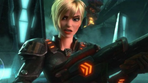 Jane Lynch as Calhoun in Wreck-It Ralph disneyjuniorblog.blogspot.com