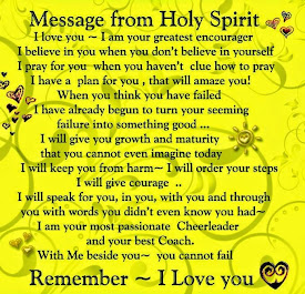 Come Holy Spirit.