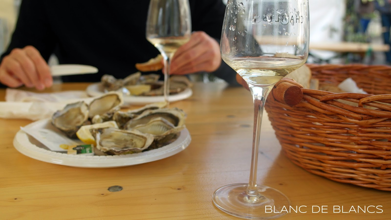 Ostereita Chablis'ssa - www.blancdeblancs.fi