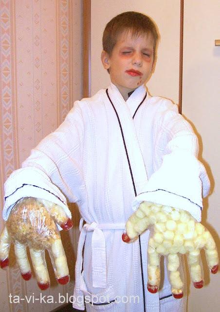 Костюм вампиров своими руками