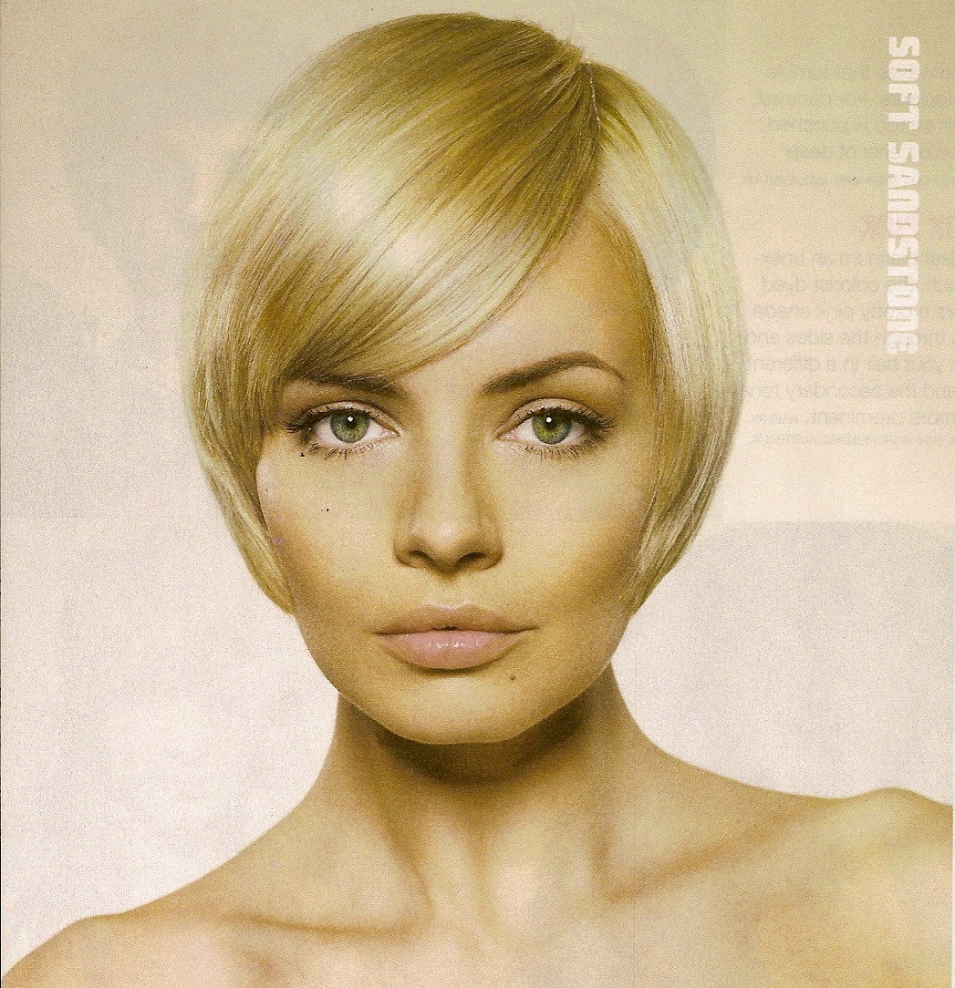 Short Blonde Straight Bob Hairstyles for prom 2011 title=