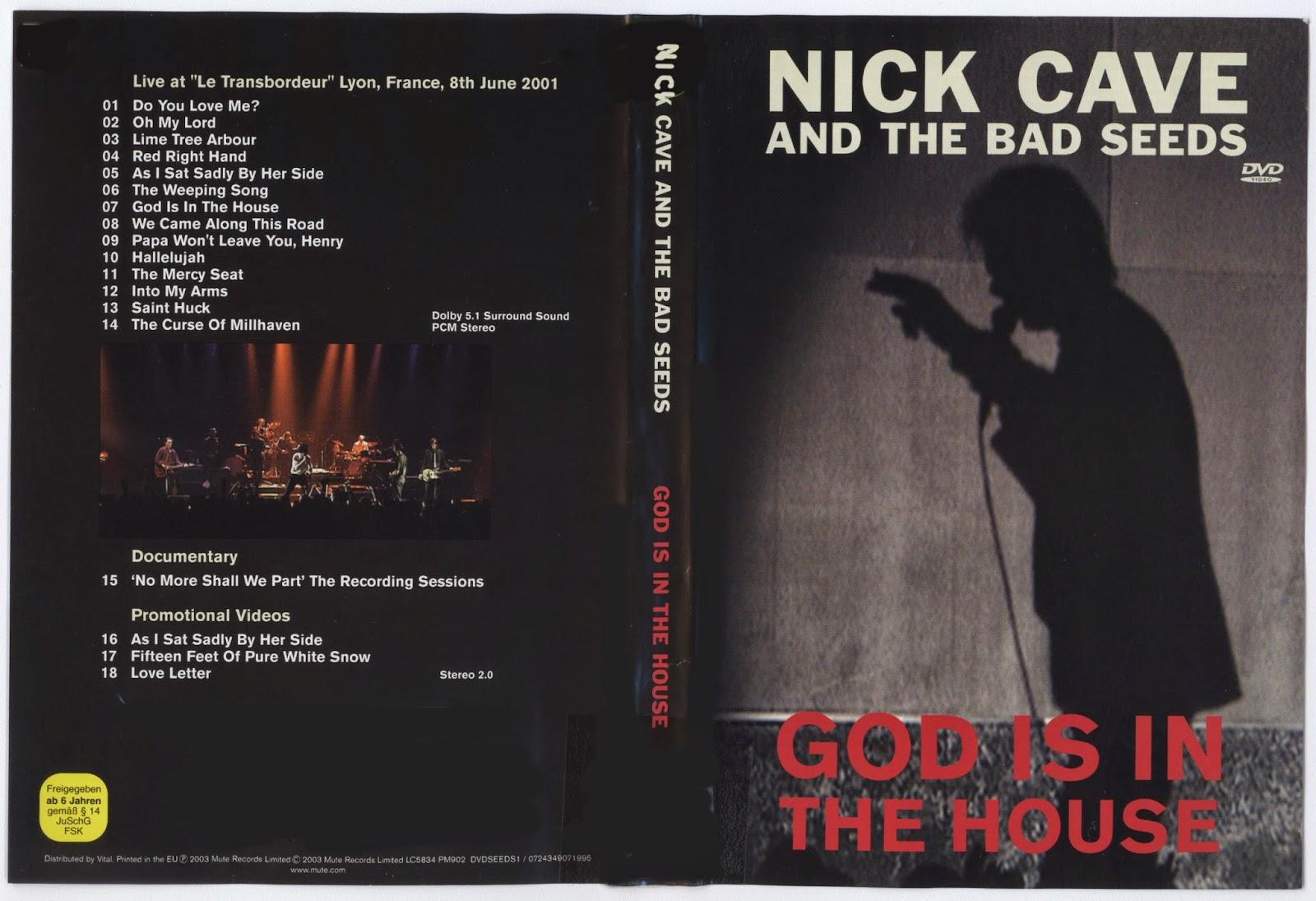 Nick cave guitar