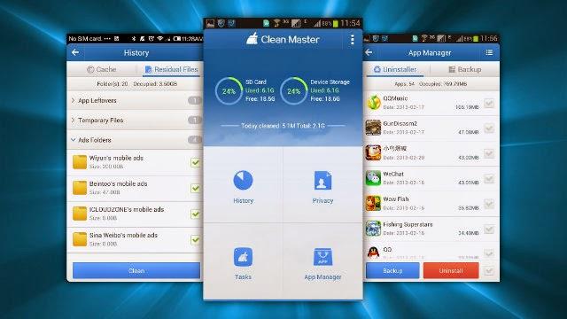 5 Aplikasi Cleaner/Pembersih Android Terbaik dan Paling Populer