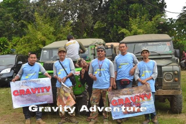 Gravity Adventure Provider Outbound Offroad di Bandung
