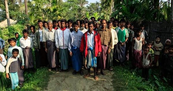 Rohyingya. Myanmar's internally displaced. Photo essay by Phil Behan