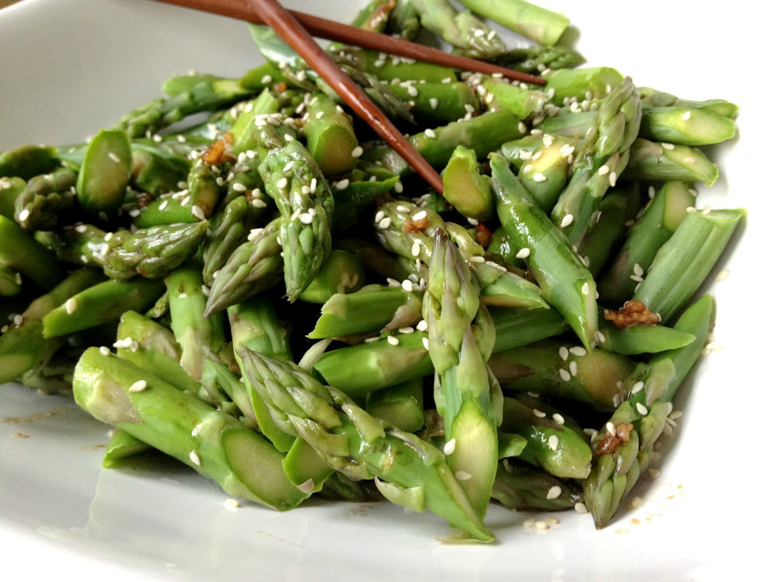 Stacey Snacks: Chinese Asparagus Salad