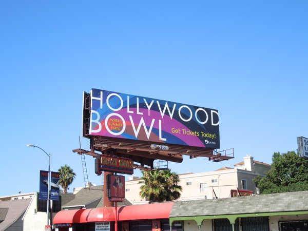 Hollywood Bowl 2013 billboard