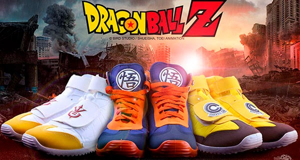 zapatillas oficiales Dragon Ball