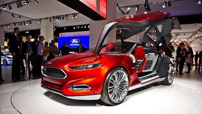 Ford Evos Concept Makes Asia Debut