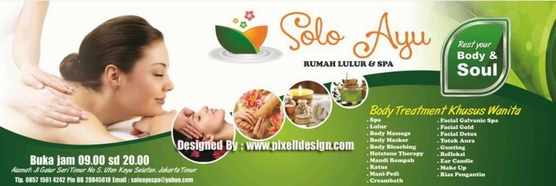 Contoh Banner Iklan Spa dengan Desain Cantik dan Menarik