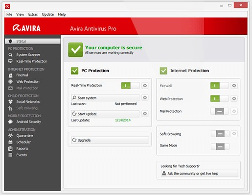 Free Download Antivirus Avira Terbaru 2015
