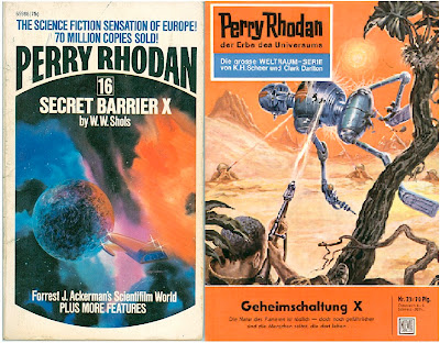 Fortress of the Six Moons E-90 Sheer Ernsting Ace Books 1971 Perry Rhodan #7