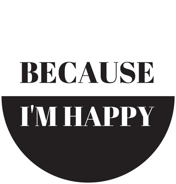 Because I'm Happy Visual Statement