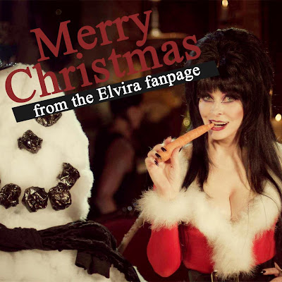 Merry Christmas from Elvira fanpage