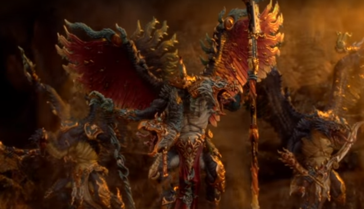 A Beautiful Look at the New Upcoming Models for Tzeentch