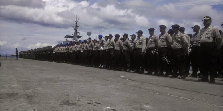 Polisi Akui Kesulitan Jaga Wilayah Perbatasan Indonesia