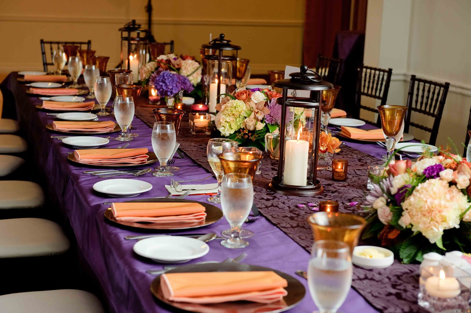 Fabulous Purple and Orange Wedding Decorations 1600 x 1065 · 306 kB · jpeg