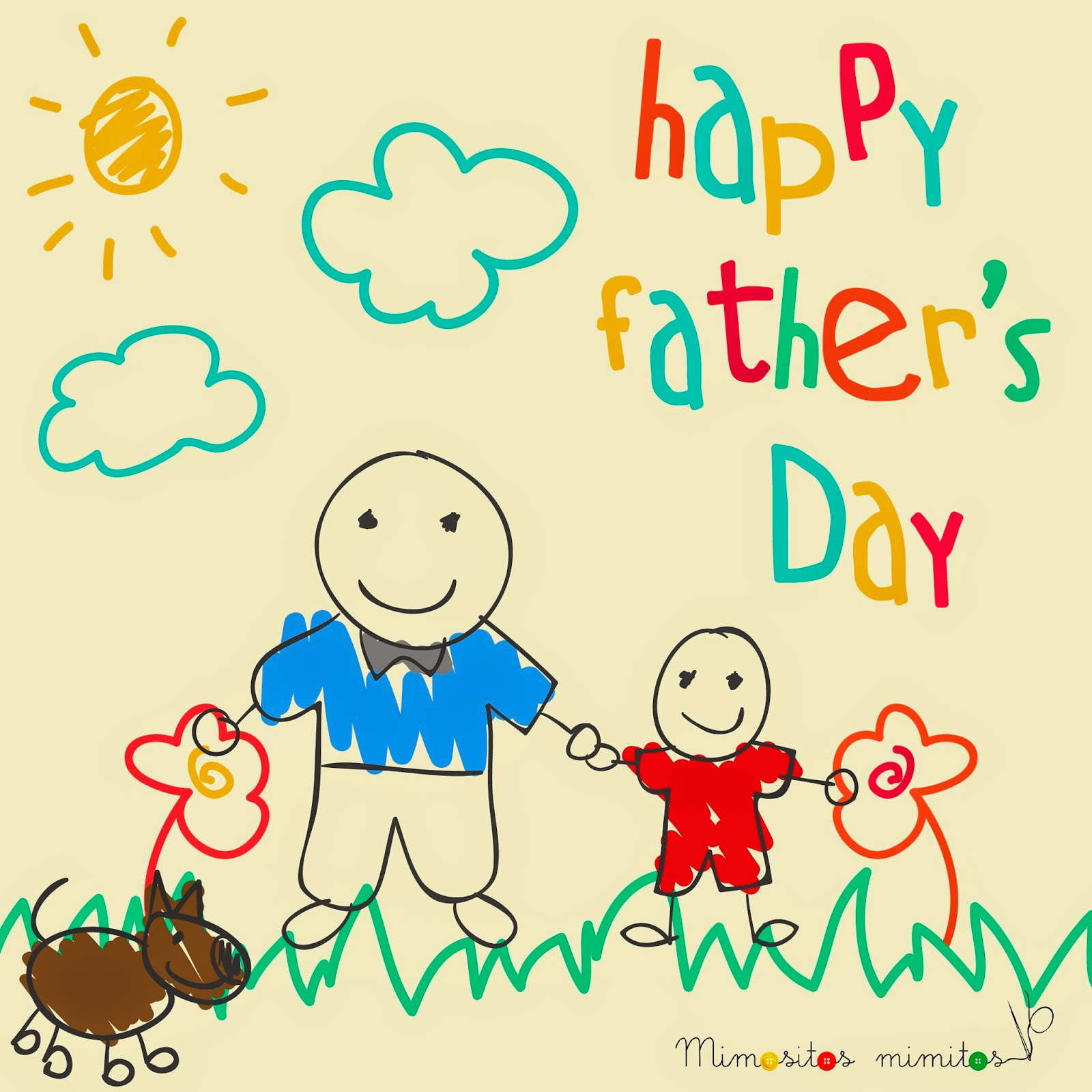 dia del padre father s day dia del pare freebies descargable gratis-english-01