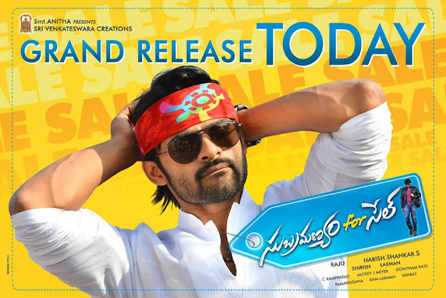 Subramanyam for Sale ,Subramanyam for Sale REVIEW