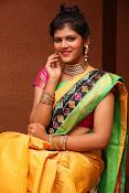 Sangeetha Kamath dazzling saree photos-thumbnail-6