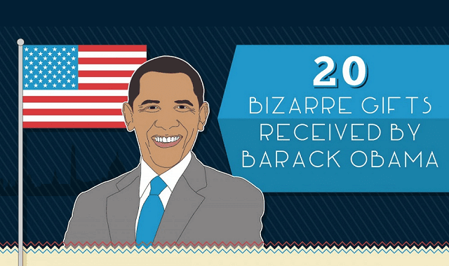 20 Bizzare Gifts Received by Barack Obama