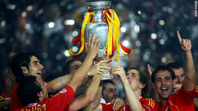 Spain Champion World Cup