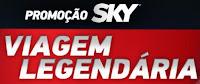 Promoção SKY Viagem Legendária www.skywarner.com.br