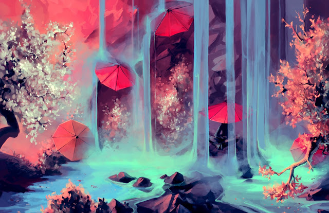 digital art scenery,5 stars, aquasixio