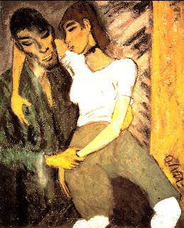 Otto Mueller, Gitans, 1920