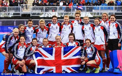 Britain Hockey Fashion♡ London Olympics 2012