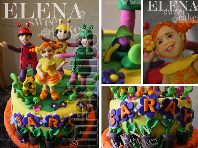 Elena sweet cakes for Cancion el jardin de clarilu